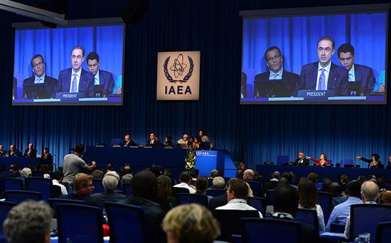 IAEA総会本会議の模様(写真出典:IAEA)