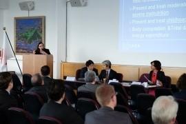 11月16日の国際保健ワークショップの模様(写真出典:在ウィーン国際機関日本政府代表部ホームページ)