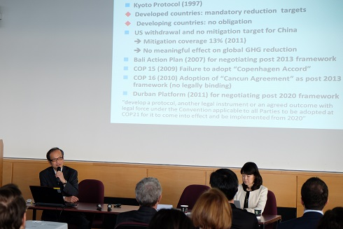 12月14日のCOP21ワークショップの模様(写真出典:在ウィーン国際機関日本政府代表部)