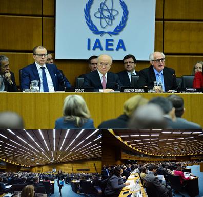 12月15日のIAEA特別理事会の模様(写真出典:IAEA)