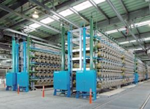 福岡地区水道企業団の海水淡水化センター =福岡市東区 ※同センターホームページから