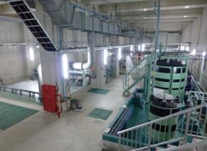福岡・新宮町の中央浄化センターの地下式 MBR ※大熊那夫紀氏提供
