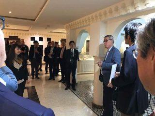 追悼の様子4:本部和彦 東京大学公共政策大学院客員教授 撮影